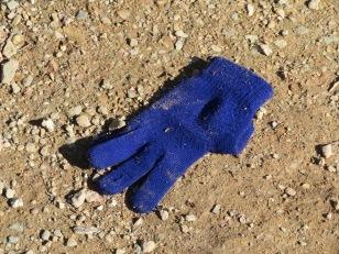 Handschoen gezocht door de wederhelft... hij was niet bij de hand.