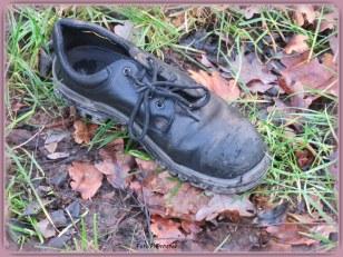 Zou men de schoen niet missen? Het blijft bij 't afvragen…,ook een gissen