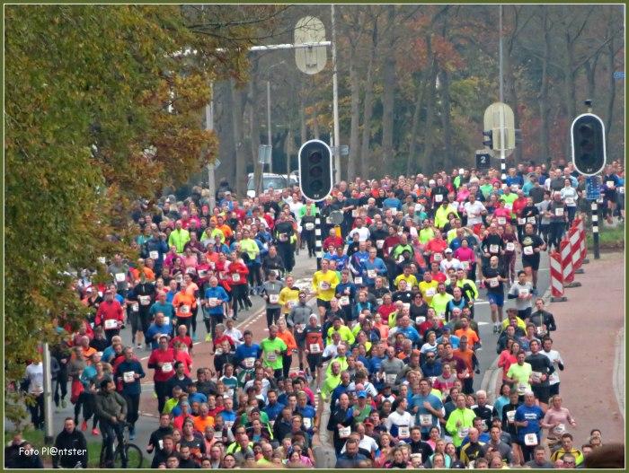 Zeven heuvelen loop  Massale runners