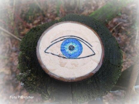 Sprekend een oog