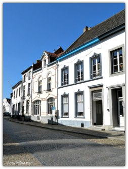 Het witte stadje Thorn is bekend om de witte huizen