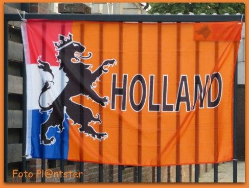 Oranje-versieringen kunnen weer opgeruimd worden, het Oranjefeest is voor de voetballiefhebbers voorbij.